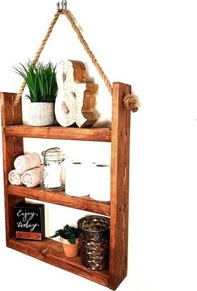 Ince Çizgi Çok Amaçlı Banyo Rafı 3 Bölmeli Raf Mutfak Rafı