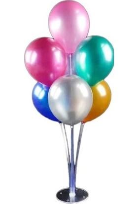 Masal Diyarı Balon Süsleme Standı 7 Çubuklu Set 75 cm