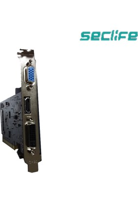 Seclife Nvidia GeForce GT210 1GB 64Bit DDR2 PCI-E x16 Ekran Kartı GT210