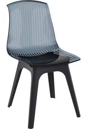 Siesta Allegra-Pp Iç ve Dış Mekan Sandalyesi Siyah