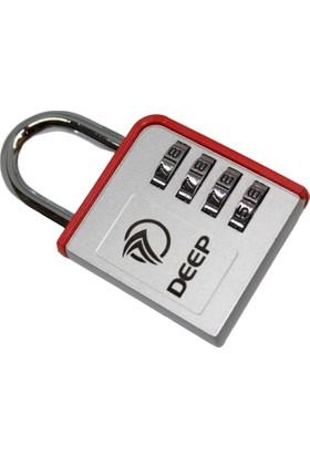 Deep Şifreli Kilit Bavul Çanta Dolap Kiliti Kırmızı