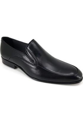 Oskar 1115 Kösele Erkek Ayakkabı - Siyah Ayakkabı