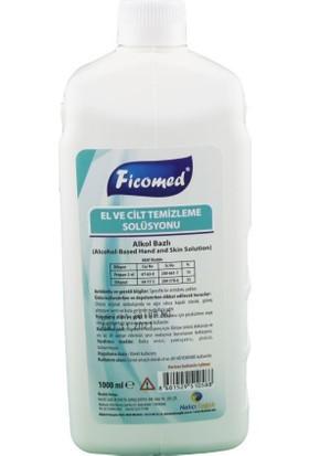 Ficomed El ve Cilt Temizleme Solüsyonu 1000 ml