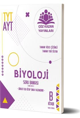 Çöz Kazan Yayınları TYT AYT Biyoloji Soru Bankası B Kitabı