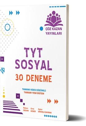 Çöz Kazan Yayınları TYT Sosyal 30 Deneme