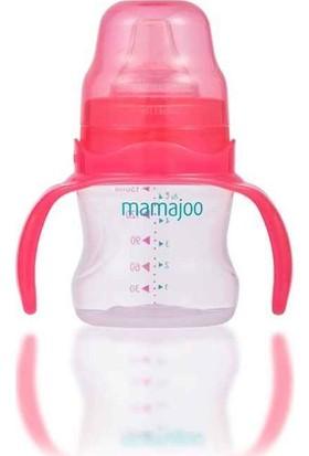 Mamajoo Kulplu Eğitici Bardak 150 ml Pembe