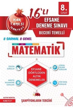 Nartest 8. Sınıf Nar Tanesi Efsane Matematik 16 Deneme Sınavı