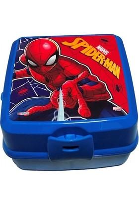Hakan Çanta Spiderman Beslenme Çantası + Beslenme Kabı + Şeffaf Suluk Matara 500 ml + Magnetli Resim Çerçevesi