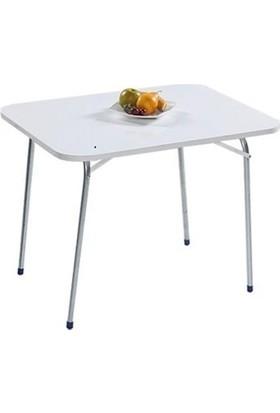 Cici Marketim Beyaz Katlanır Masa 45 x 60 cm
