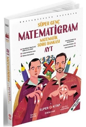 Süper Kitap Ayt Süper Genç Matematigram Matematik Soru Bankasıyeni - Recep Türk