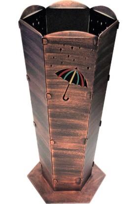 Barbeque And Fire Dekoratif Metal Şemsiyelik