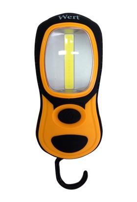 Wert 2611 Pilli Çalışma Lambası, 3W Cob + 3 LED