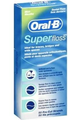 Oral-B Super Floss Diş İpi 50 Adet
