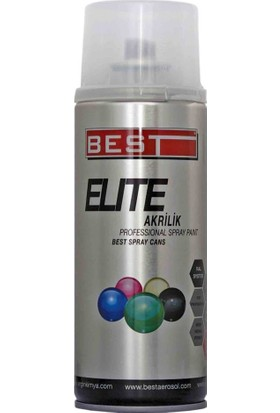 Best Elite 7001 Donanma Gri Sprey Boya 400 ml Tekli