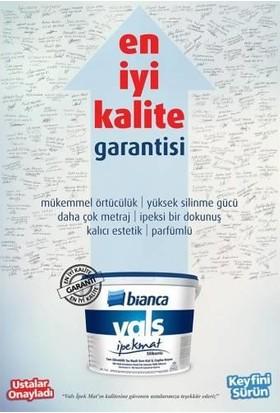 Bianca Vals İpek Mat Silinebilir 0,75 lt 0101 Beyaz