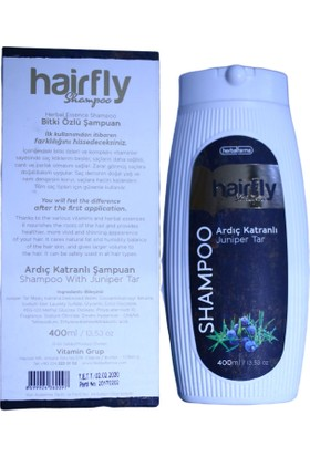 Herbalfarma Hairfly Ardıç Katranlı & Bitkisel Şampuan