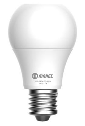 Makel E-27 LED Ampul 4000K Gün Işığı 6 W