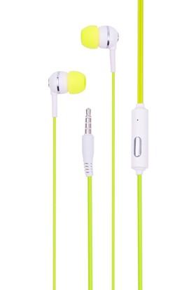 Syrox K7 Handsfree Stereo Kulakiçi Kulaklık - Sarı