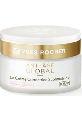 Yves Rocher Anti-Age Global - Gençleştirici ve Yenileyici Gündüz Kremi / Kuru Ciltler Için 50 ml