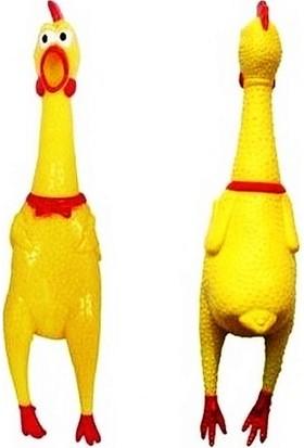 Atlas Oyuncak Shrilling Chicken Çığlık Atan Horoz 30 cm