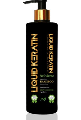 Liquid Keratin Saç Botoksu Yıpranmış Saçlara Keratin Yükleme Seti Serumlu 6 x 20 ml