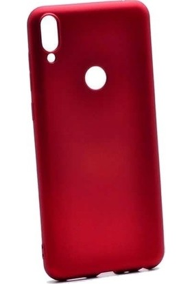 Vısıon Xiaomi Redmi Note 7 Lüks Silikon Kılıf Kırmızı