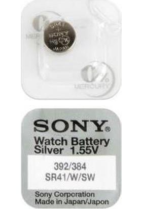 Sony SR41SW 392 384 1.55V Saat Pili