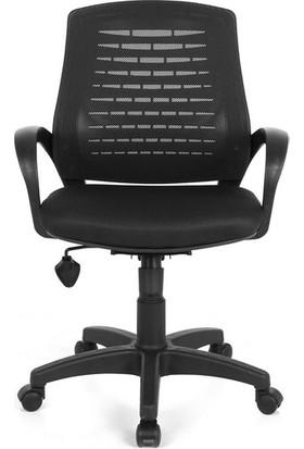 Sers Mobilya Ofis Sandalyesi Mavi