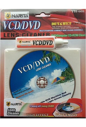 Narita Dvd-Vcd Lens Temizleme Seti