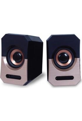 Platoon PL-4239 1+1 USB Speaker