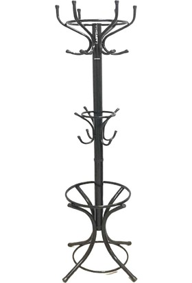 Carvensa Metal Asklık Portmanto Çift Tepeli 180 cm