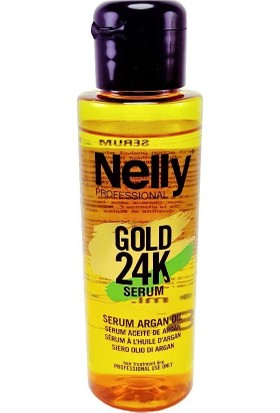 Nelly Gold 24K Serum Argan Yağlı 100 ml