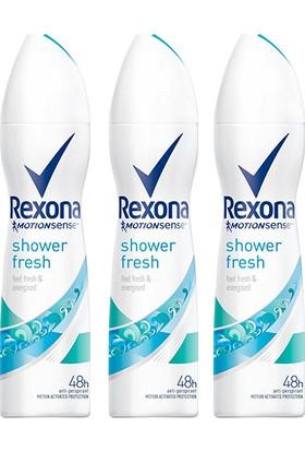 Rexona Shower Fresh Kadın Deodorant 150 ml x 3 Adet
