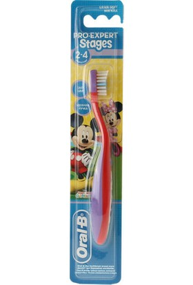 Oral-B Stages Çocuk Diş Fırçası ( 3-5 Yaş )