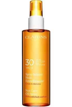 Clarins Sun Care Oil Spray Uvb/a 30SPF 150 ml