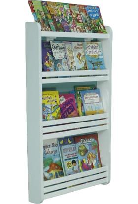Emdief Home - Rüya Serisi 3 Raflı Montessori Kitaplık