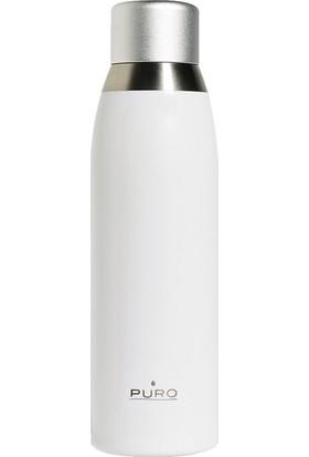 Puro Smart Paslanmaz Çelik Termos Termal Beyaz 500 ml