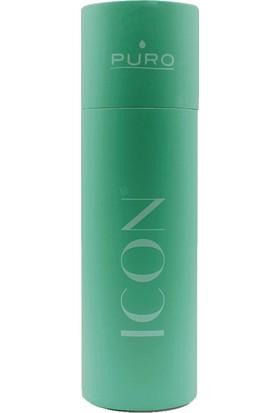 Puro Icon Soft Touch Paslanmaz Çelik Termos Su Yeşili 500 ml