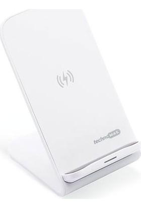 Mas 6610 Kablosuz Şarj Standı Sabit Tip Beyaz
