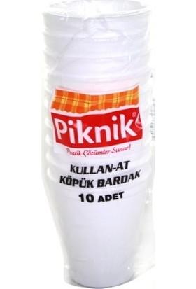 Piknik Kullan-At Köpük Bardak 10'lu