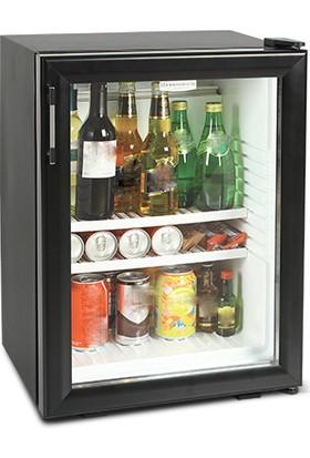 Elektromarla Drc 45 S Siyah Cam Kapak Minibar
