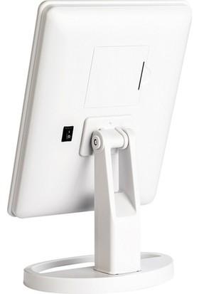 Aprilla Alm 9905 LED Isıklı Makyaj Aynası Beyaz