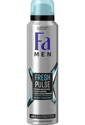 Fa Deo Spray Men Fresh Pulse 150 Ml