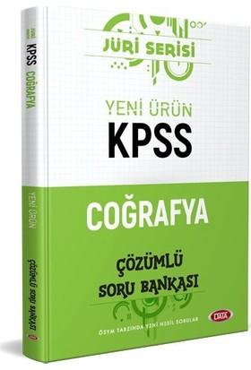 Data Yayınları KPSS Coğrafya Jüri Çözümlü Soru Bankası