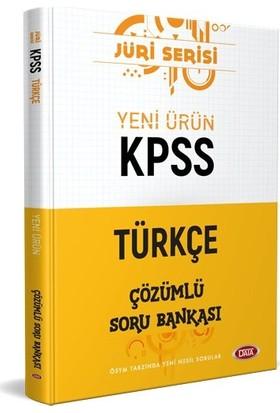 Data Yayınları KPSS Türkçe Jüri Çözümlü Soru Bankası
