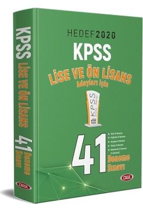 KPSS Lise ve Ön Lisans 41 Deneme Sınavı Hedef 2020