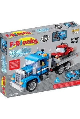 Furkan F-Blocks Master Seri 848 Parça