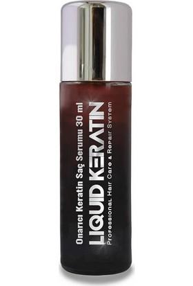 Liquid Keratin Keratin Saç Dökülme Önleyici ve Hızlı Saç Uzatan 4'lü Set