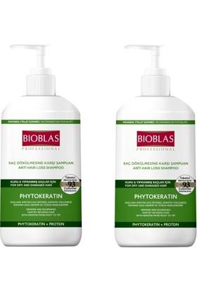 Bioblas Pytokeratin Kuru - Yıpranmış Saçlar İçin Şampuan 1000 ml x 2