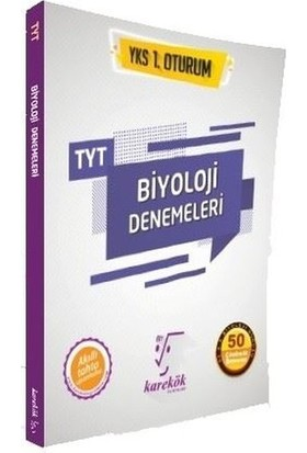 Karekök Yayınları TYT Biyoloji Denemeleri 1. Oturum